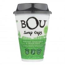 Bou - Soup Cup - Harvest Vegetables And Grain Soup - Case Of 6 - 1.58 Oz.
