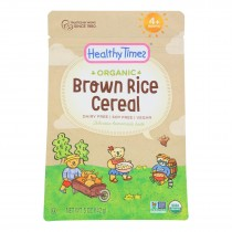 Healthy Times - Cerl Baby Wlgr Brn Ric - Case Of 6 - 5 Oz