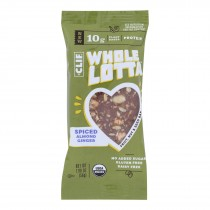 Clif Bar - Whole Lotta Spiced Almond Ginger Bar - Case Of 12 - 1.98 Oz.
