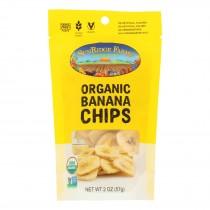 Sunridge Farms - Organic Banana Chips - Case Of 8 - 2 Oz.