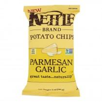 Kettle Brand - Chips Parmesan Garlic - Case Of 15 - 5 Oz