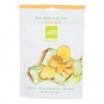 Alo - Dried Snack Av Ginger - Case Of 10 - 2.10 Oz