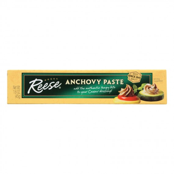 Reese Paste - Anchovy - Case Of 10 - 1.6 Oz