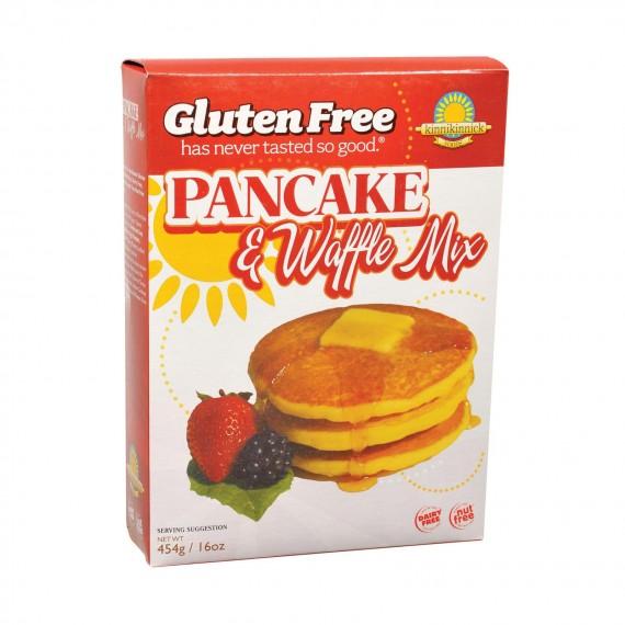 Kinnikinnick Pancake & Waffle Mix -gluten Free - Case Of 6 - 16 Oz