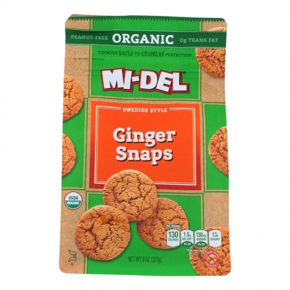 Midel - Ginger Snaps - Case Of 8 - 8 Oz
