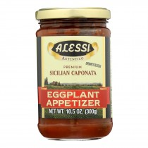 Alessi Eggplant Appetizer - Caponata - Case Of 12 - 10.5 Oz.