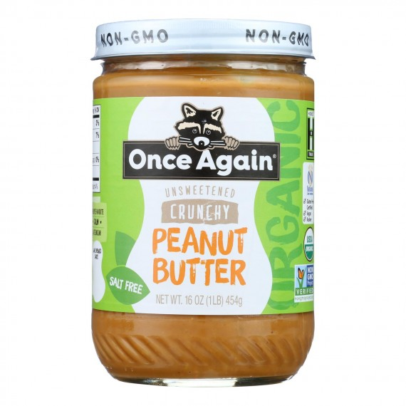Once Again - Peanut Butter Crunchy Ns - Case Of 6-16 Oz