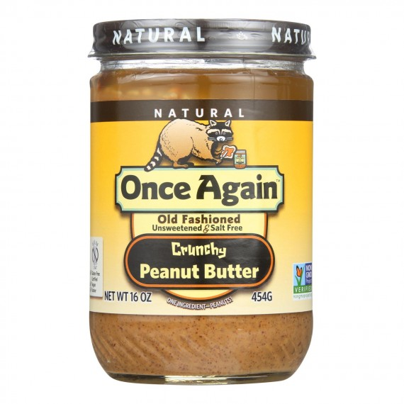 Once Again - Peanut Butter Crunch Ns - Case Of 6-16 Oz