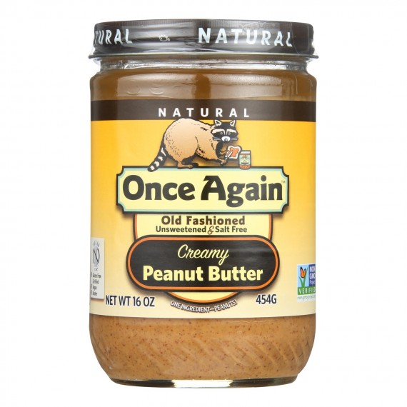 Once Again - Peanut Butter Smooth Ns - Case Of 6-16 Oz