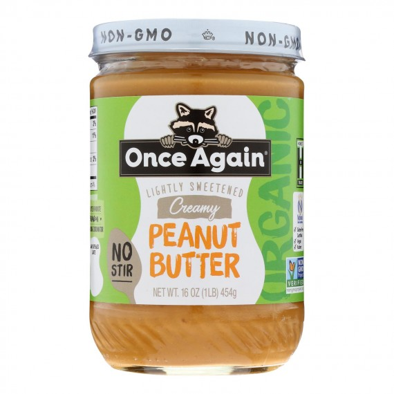 Once Again - Peanut Butter Smooth - Case Of 6-16 Oz