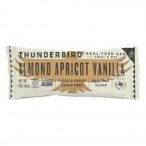 Thunderbird - Real Food Bar - Almond Apricot Vanilla - Case Of 15 - 1.7 Oz.