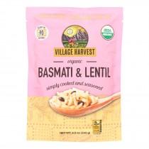 Village Harvest - Rice Basm&lentl Pouch - Case Of 6 - 8.5 Oz