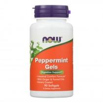Now Foods - Peppermint Gels - 1 Each 1-90 Sgel