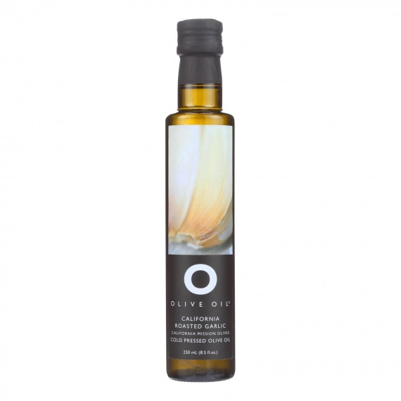 O Olive Oil Roasted Garlic Olive Oil - Case Of 6 - 8.5 Fz