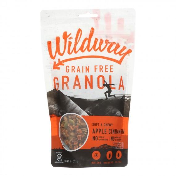 Wildway - Gran Green Free Apple Cinnamon - Case Of 6 - 8 Oz