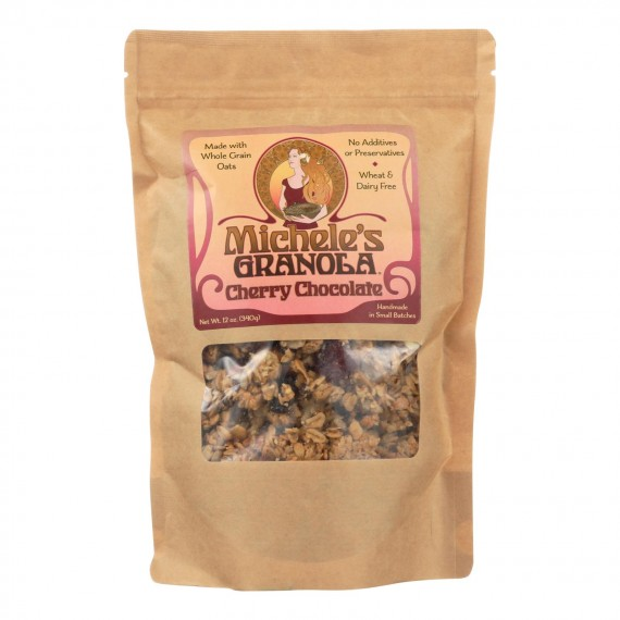 Michele's Granola - Granola Cherry Chocolate - Case Of 6-12 Oz