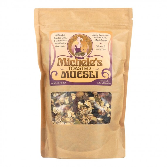 Michele's Granola - Muesli Toasted - Case Of 6-16 Oz