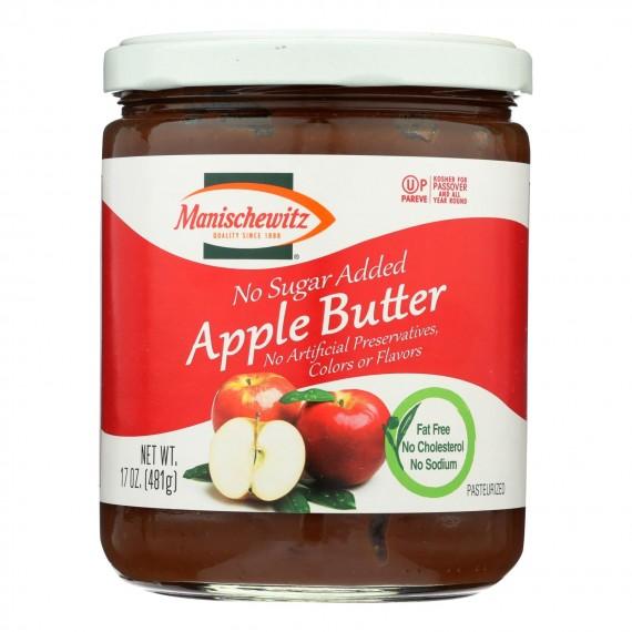 Manischewitz Apple Butter - Case Of 6 - 17 Oz