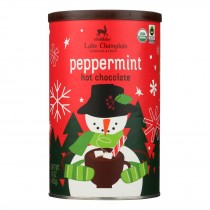Lake Champlain Chocolates - Hot Chocolate Peppermint - Case Of 6 - 16 Oz