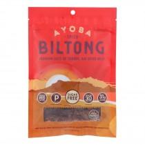 Ayoba-yo - Biltong South African Jerky - Spicy - Case Of 8 - 2 Oz.