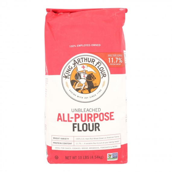 King Arthur Flour All-purpose Unbleached Flour - Case Of 4 - 10