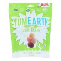 Yumearth - Candy Og2 Sour Beans - Cs Of 18-7 Oz