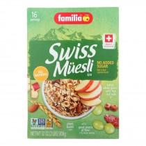 Familia - Muesli Swiss No Add Sugar - Case Of 6-29 Oz