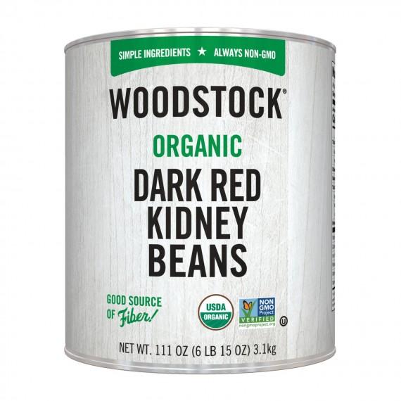 Woodstock Beans - Organic - Kidney - Case Of 6 - 111 Oz