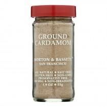 Morton & Bassett Ground Cardamom Seasoning - Case Of 3 - 1.9 Oz