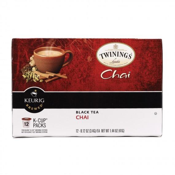 Twinings Tea - Tea K-cup Chai - Case Of 6 - 12 Ct
