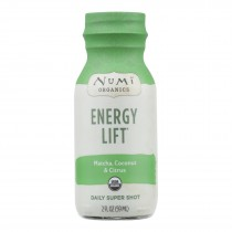 Numi Tea - Tea Shot Energy Lift - Case Of 6 - 2 Oz