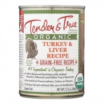 Tender & True Cat Food, Turkey And Liver - Case Of 12 - 12.5 Oz