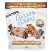 Cooper Street - Ckies Cinnamon Chocolate Chip - Case Of 6 - 5 Oz