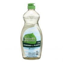 Seventh Generation - Dish Liquid Free & Clear - Case Of 6-19 Fz