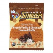 Honey Stinger Waffle - Vanilla & Chocolate - Case Of 16 - 1.06 Oz.