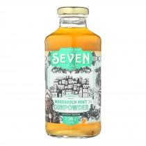 Seven Teas Tea Marrakesh Mint Gunpowder - Case Of 12 - 16 Fz