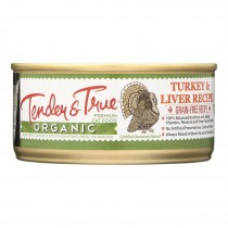 Tender & True Cat Food, Turkey And Liver - Case Of 24 - 5.5 Oz