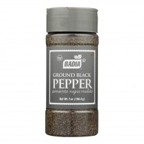 Badia Spices Ground Black Pepper - Case Of 12 - 7 Oz.
