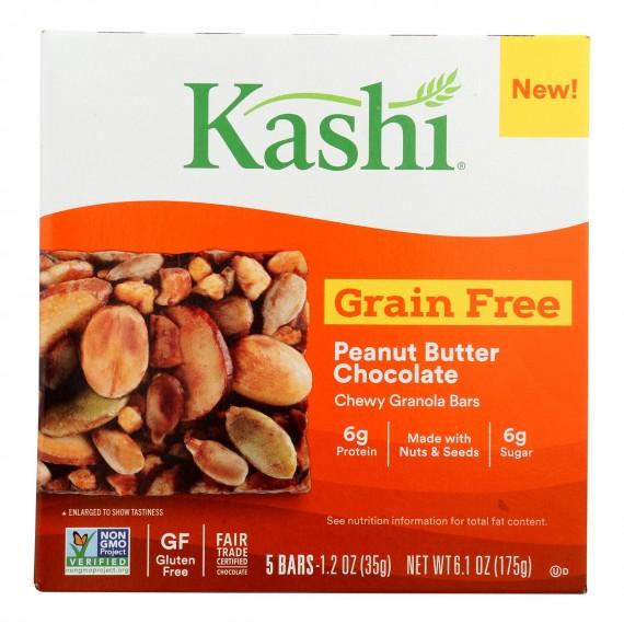 Kashi - Bar Peanut Butter Chocolate Grain Free - Case Of 8 - 5/1.2 Oz