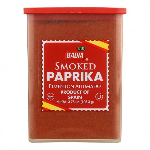 Badia Spices - Paprika Smoked - Case Of 12 - 3.75 Oz
