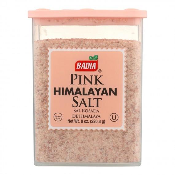 Badia Spices Pink Himalayan Salt - Case Of 12 - 8 Oz