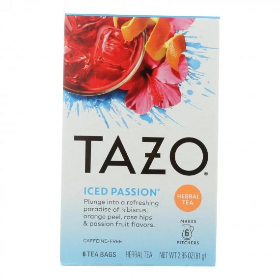 Tazo Tea - Tea Hrbl Iced Passion - Case Of 4 - 6 Bag