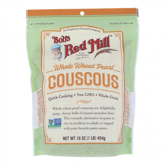 Bob's Red Mill - Couscous Pearl Whole Wheat - Case Of 4 - 16 Oz