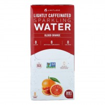 Limitless Coffee - Water Spk Blood Orange - Case Of 3 - 8/12 Fz