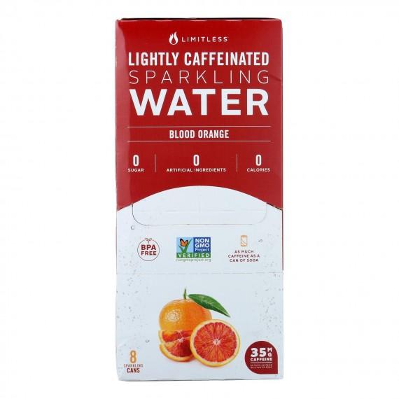 Limitless Coffee - Water Spk Blood Orange - Case Of 3 - 8/12 Fz