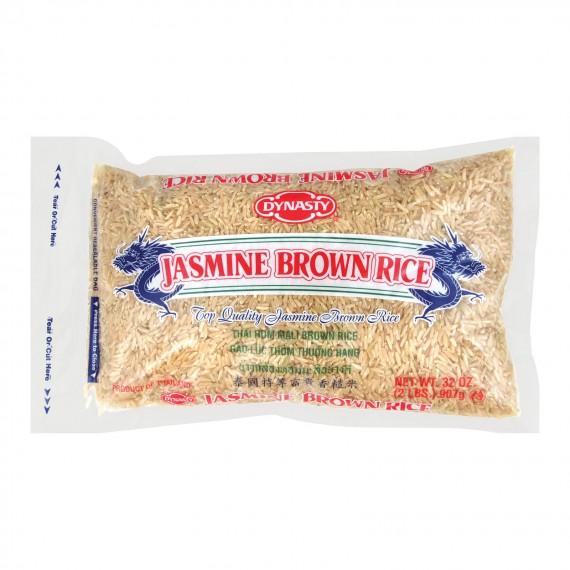 Dynasty Rice - Jasmine - Brown - Case Of 12 - 2 Lb.