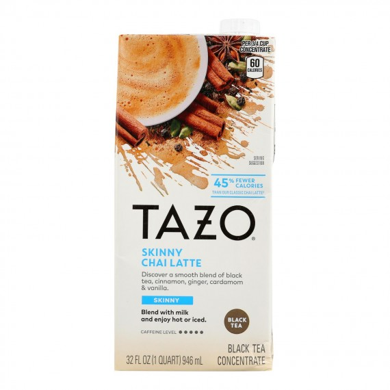 Tazo Tea - Tea Conc Skny Chai Latte - Case Of 6 - 32 Fz