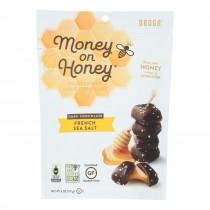 Money On Honey - Dark Chocolate French Sea Salt - Case Of 6-4 Oz