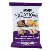 Creations - Popcorn Mx Truf Hrb/parm Ch - Case Of 6-5 Oz