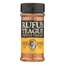 Rufus Teague - Spice Rub Chicken N Meat - Case Of 6 - 6.2 Oz